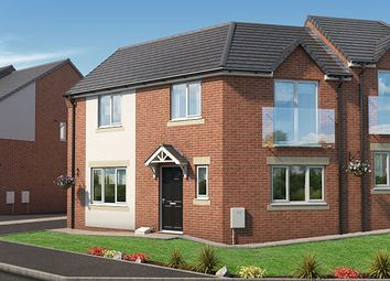 "Thumbnail 3 bedroom property for sale in ""The Oak At The Pinders"" at Coach Road, Throckley, Newcastle Upon Tyne"