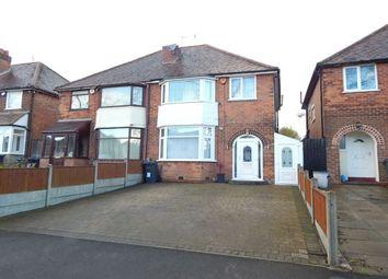 Thumbnail 3 bed semi-detached house for sale in Mavis Road, Northfield, Birmingham