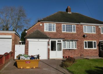 Thumbnail 3 bed semi-detached house for sale in Rushleigh Road, Majors Green, Solihull