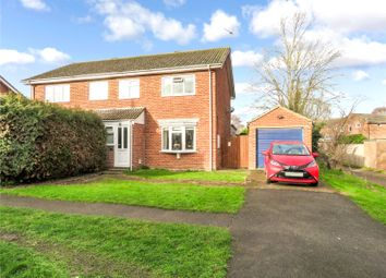 Thumbnail 3 bed semi-detached house for sale in Chapel Road, Earith, Huntingdon, Cambridgeshire