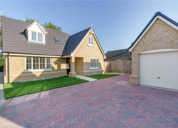 Thumbnail 4 bed detached house for sale in Hardwick Court, Holme, Peterborough, Cambridgeshire