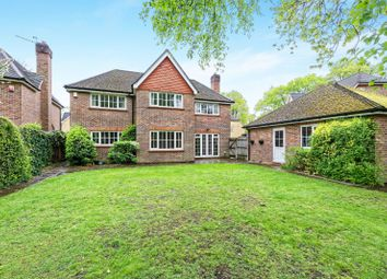 Thumbnail 4 bed detached house to rent in Redwing Gardens, West Byfleet, Surrey