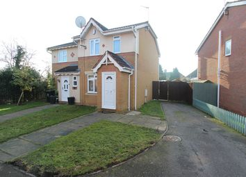 Thumbnail 2 bedroom semi-detached house for sale in Boynton Road, Leicester