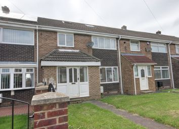 Thumbnail 2 bed terraced house for sale in Greendale Gardens, Hetton-Le-Hole, Houghton Le Spring
