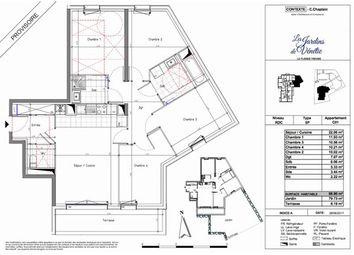 Thumbnail 4 bed apartment for sale in 94420, Le Plessis-Trévise, Fr