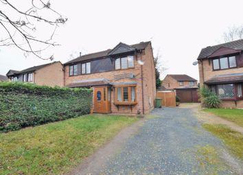 Thumbnail 2 bed semi-detached house for sale in Binbrook Close, Doddington Park, Lincoln