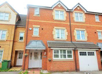 Thumbnail 4 bedroom town house for sale in Hampton Chase, Prenton, Merseyside