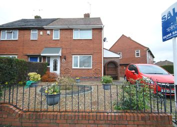 Thumbnail 2 bed semi-detached house for sale in Brook Street, Clay Cross, Chesterfield, Derbyshire
