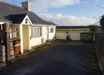 Thumbnail 3 bed detached bungalow for sale in Abererch Road, Pwllheli