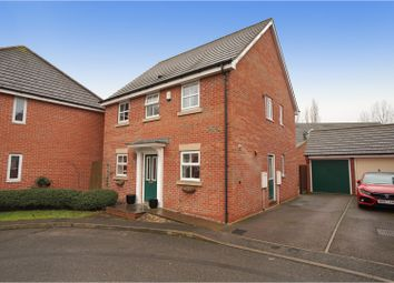 Thumbnail 3 bed detached house for sale in Barrys Close, Woodville