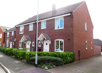 Thumbnail 3 bed end terrace house for sale in Violet Way, Yaxley, Peterborough