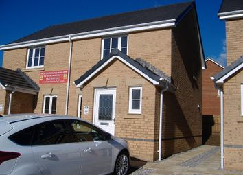 Thumbnail 2 bedroom semi-detached house to rent in 30 Joslin Close, Litchard, Bridgend, Bridgend.