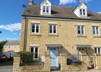 Thumbnail End terrace house for sale in Waterford Road, Witney