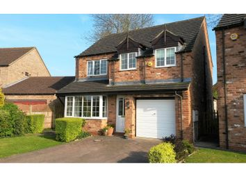 Thumbnail 4 bed detached house for sale in Barnes Wallis Court, Lincoln