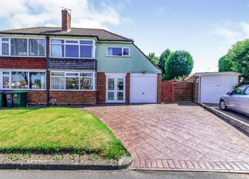 Thumbnail 3 bed semi-detached house for sale in Andrew Road, Wednesbury Oak Estate, Tipton