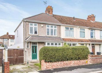 Thumbnail 3 bedroom end terrace house for sale in Sandling Avenue, Horfield, Bristol