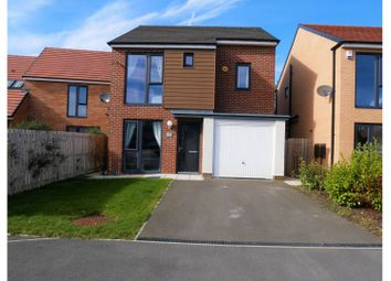 Thumbnail 3 bed detached house for sale in Chillingham Close, Washington