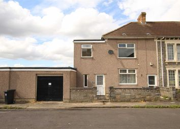 Thumbnail 2 bedroom maisonette for sale in Rodney Avenue, Kingswood, Bristol