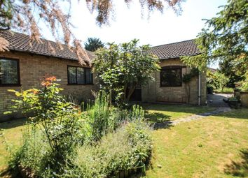 Thumbnail 3 bed detached bungalow for sale in Mill Field, Sutton, Ely, Cambridgeshire
