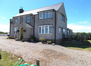 Thumbnail 3 bed detached house for sale in Dinas, Pwllheli