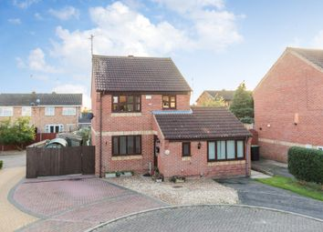 Thumbnail 3 bed detached house for sale in Bugby Way, Raunds, Wellingborough