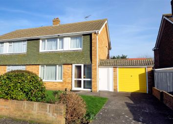 Thumbnail 3 bed semi-detached house for sale in Summerfield Avenue, Whitstable