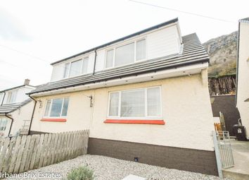 Thumbnail 3 bed semi-detached house for sale in Pendalar, Llanfairfechan