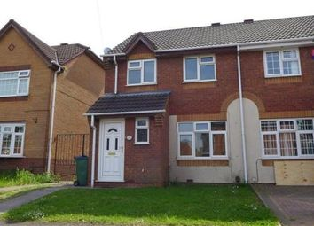 Thumbnail 3 bed property to rent in Hellier Avenue, Tipton