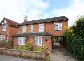 Thumbnail 4 bed detached house for sale in Clarence Road, Fleet