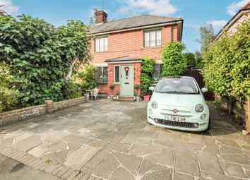 Thumbnail 3 bed semi-detached house for sale in Costead Manor Road, Brentwood