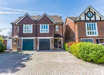 Thumbnail 3 bed town house for sale in Poplar Close, Epsom