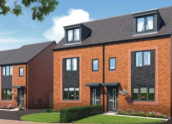 "Thumbnail 3 bedroom property for sale in ""The Kepwick At Riverbank View "" at Concord Place, Salford"