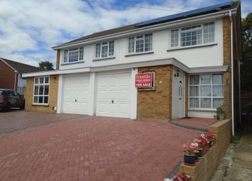 Thumbnail 4 bed semi-detached house for sale in Hanover Gardens, Fareham