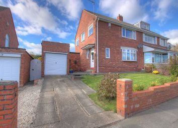 Thumbnail 3 bed semi-detached house for sale in Coach Road, Newcastle Upon Tyne