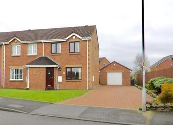 Thumbnail 3 bedroom semi-detached house for sale in Threaplands, Cleator Moor, Cumbria