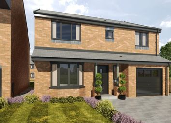 Thumbnail 4 bedroom detached house for sale in Marley View, Marley Hill, Newcastle Upon Tyne