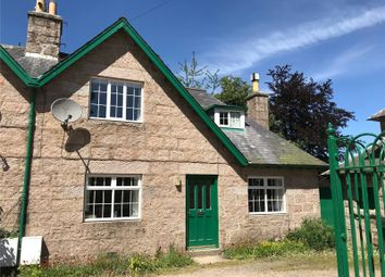 Thumbnail 2 bed semi-detached house to rent in 1 Bush Cottages, Glen Tanar, Aboyne, Aberdeenshire