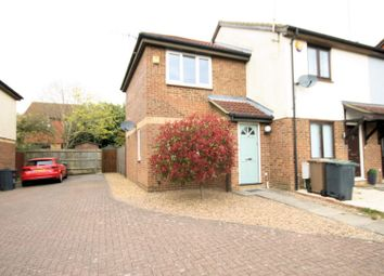 Thumbnail 1 bed end terrace house for sale in Elveden Close, Luton
