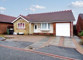 Thumbnail 3 bed bungalow for sale in Chaffinch Court, Ashington