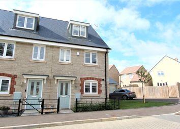 Thumbnail 3 bed semi-detached house to rent in Quarry Field, Ridgeway Farm, Swindon