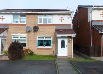 Thumbnail 2 bed semi-detached house for sale in Thistledown Grove, Coatbridge