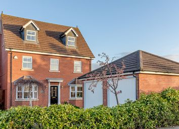Thumbnail 5 bed detached house for sale in Wake Way, Northampton