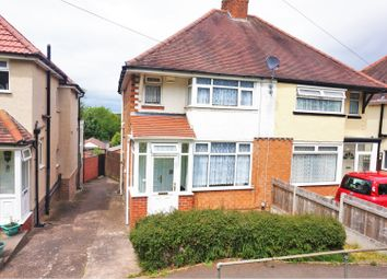 Thumbnail 2 bed semi-detached house for sale in Groveley Lane, Birmingham