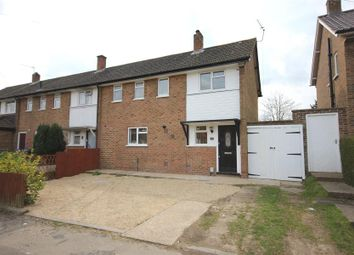 Thumbnail 3 bed semi-detached house to rent in Laburnham Road, Hook Heath, Woking
