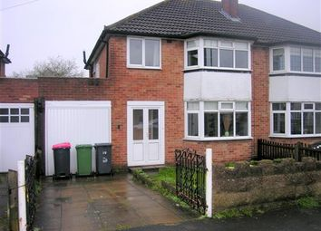 Thumbnail 3 bed semi-detached house for sale in Salisbury Drive, Water Orton, Birmingham