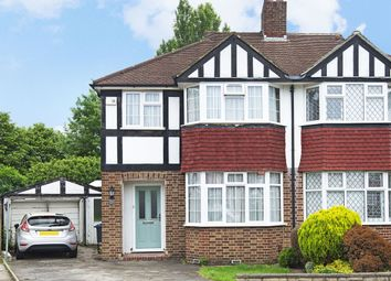 Thumbnail 3 bedroom semi-detached house for sale in Bargate Close, New Malden