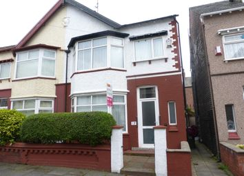 Thumbnail 3 bedroom semi-detached house for sale in Kinnaird Road, Wallasey