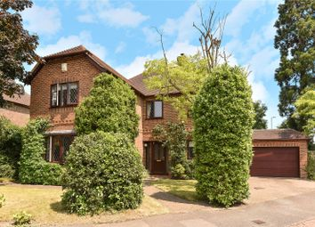 Thumbnail 4 bed detached house for sale in Lych Gate Close, Sandhurst, Berkshire