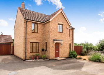 Thumbnail 4 bed detached house for sale in Normangate, Ailsworth, Peterborough