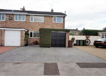 Thumbnail 3 bedroom semi-detached house for sale in Hornbrook Grove, Solihull